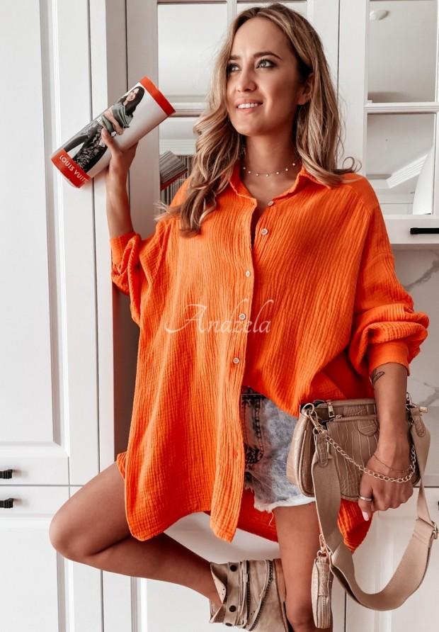 Blúzka Tunika Clarencia Orange