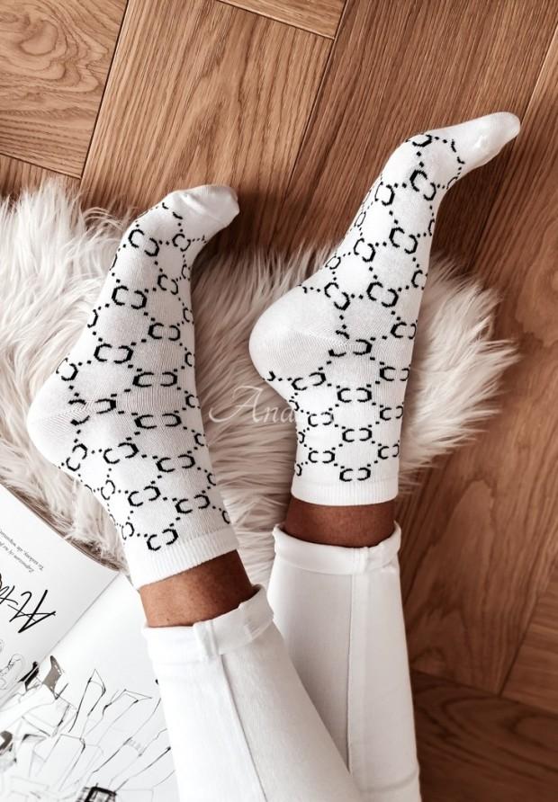 Ponožky Grande White