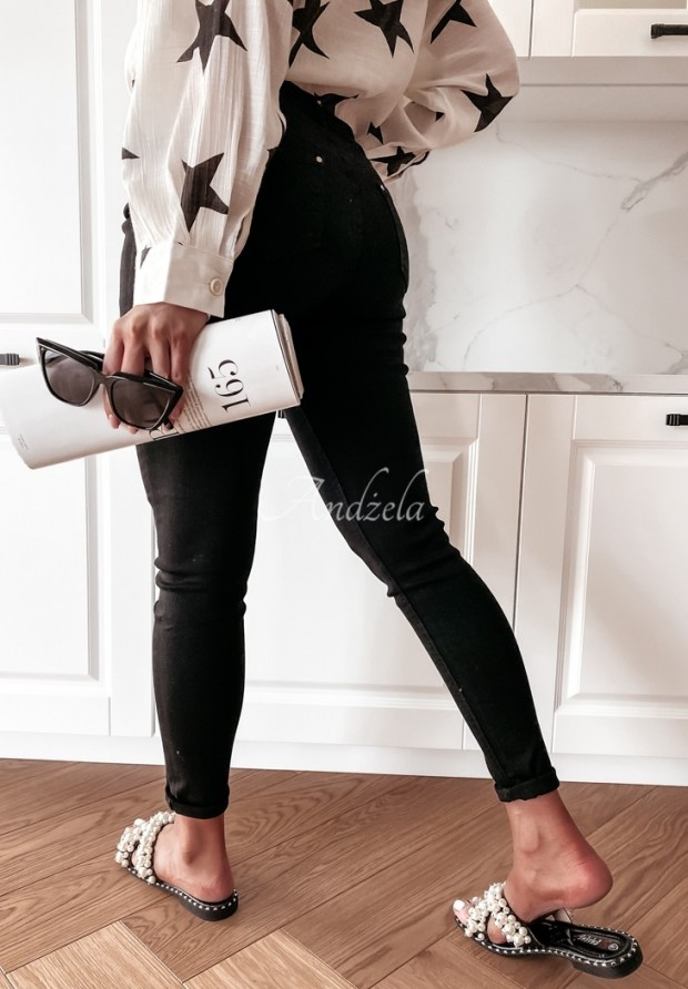 Nohavice Jeans Carbone Black
