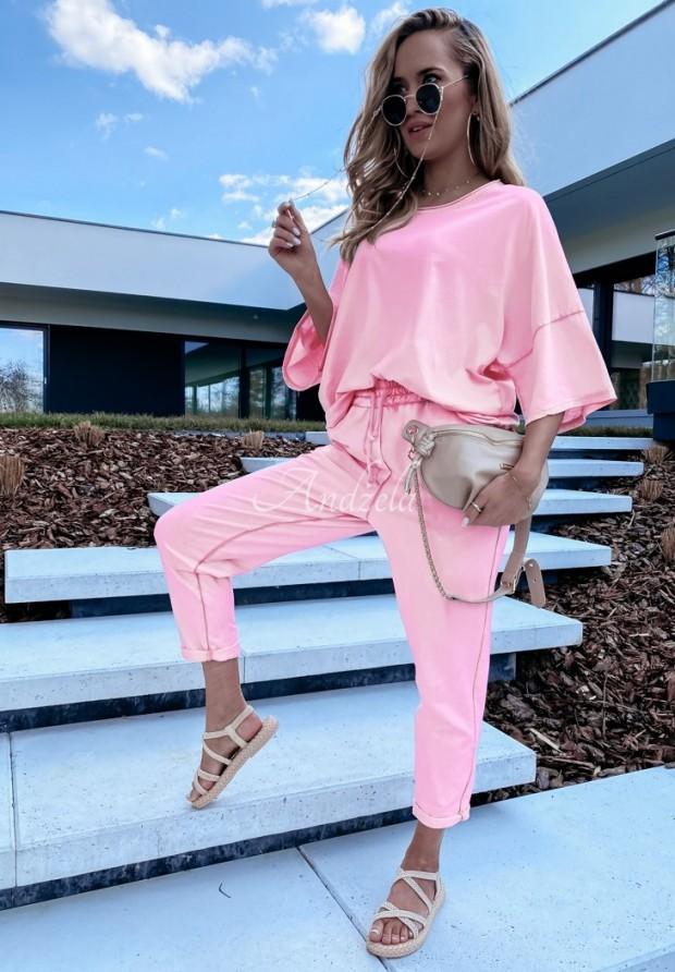 Nohavice Teplákové Lili Pink