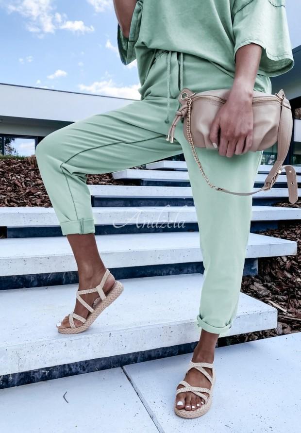 Nohavice Teplákové Lili Mineral