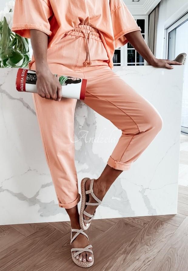 Nohavice Teplákové Lili Orange