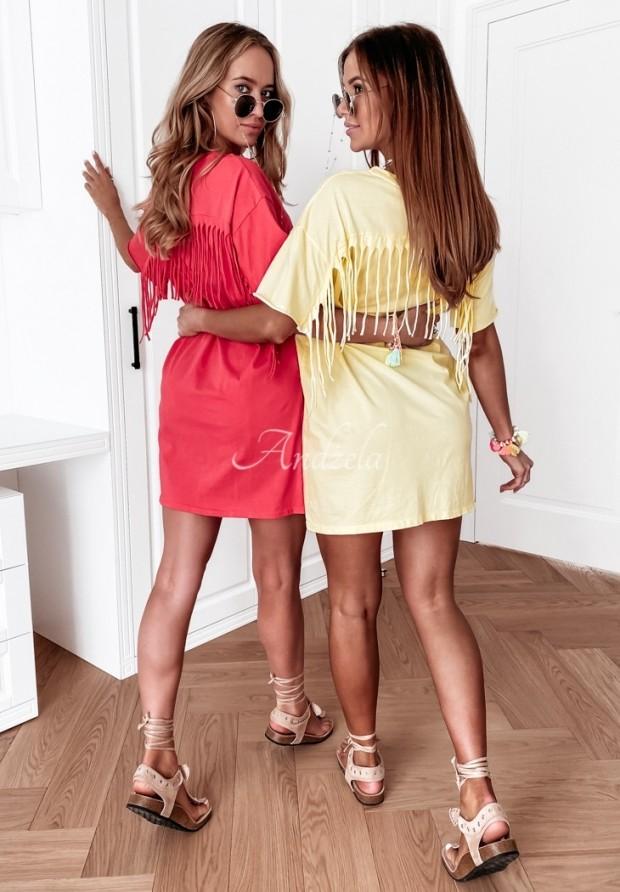 Šaty Tunika Soler Yellow