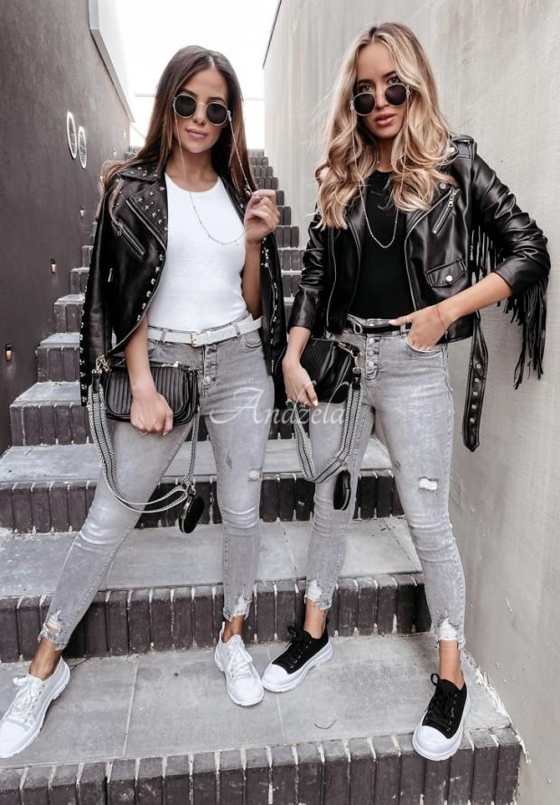 Nohavice Jeans Pallaro Grey