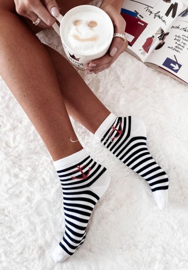 Ponožky Marine White