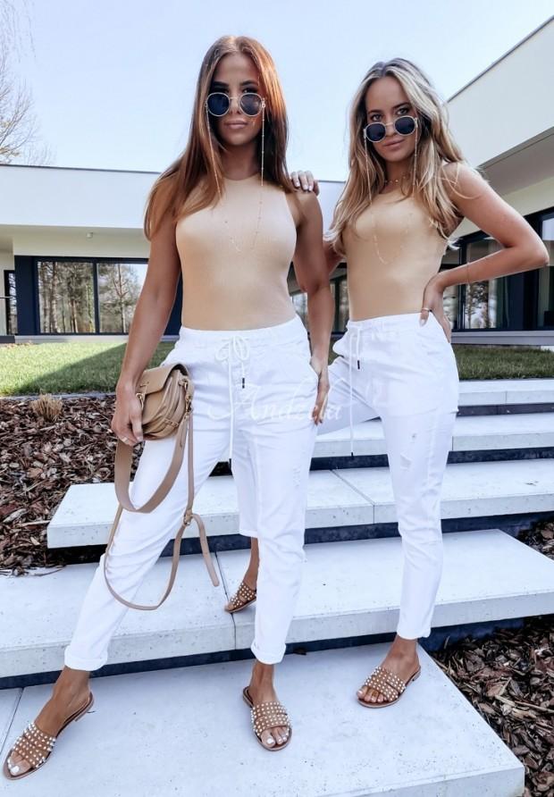 Nohavice Jeans Rossa White