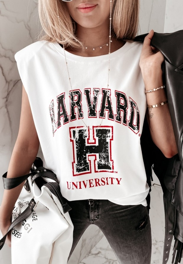Blúzka Harvard White