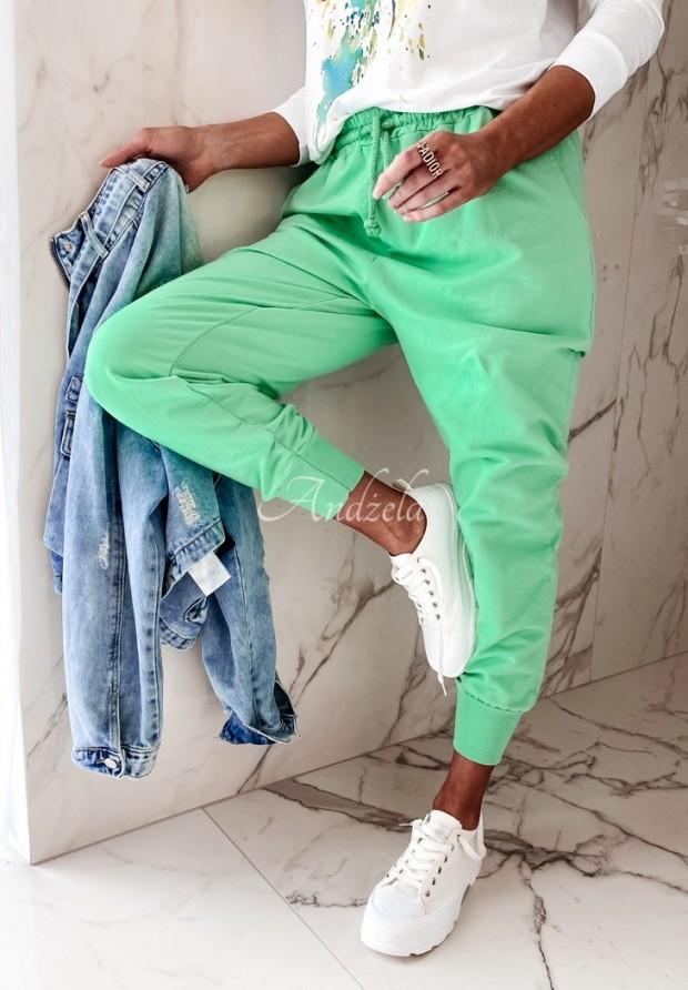 Nohavice Teplákové Savoia Green