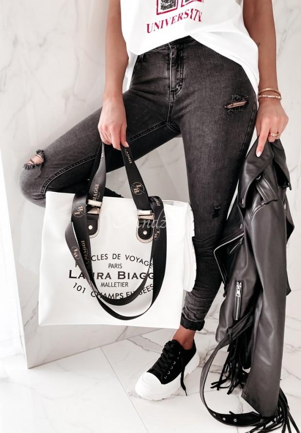 Nohavice Jeans Antalia Dark Grey