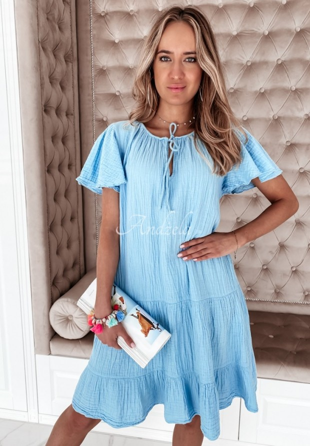 Šaty Cassandra Blue