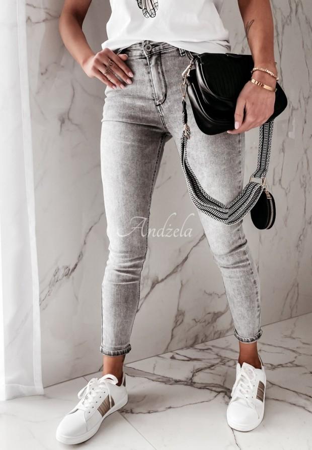 Nohavice Jeans Junee Grey