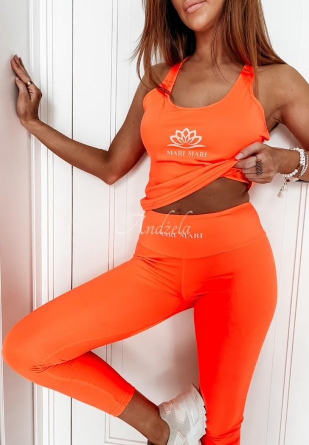 Top Fiore Neon Orange
