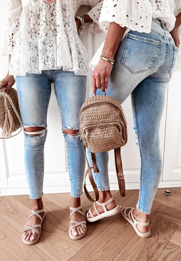 Nohavice Jeans Sallaro
