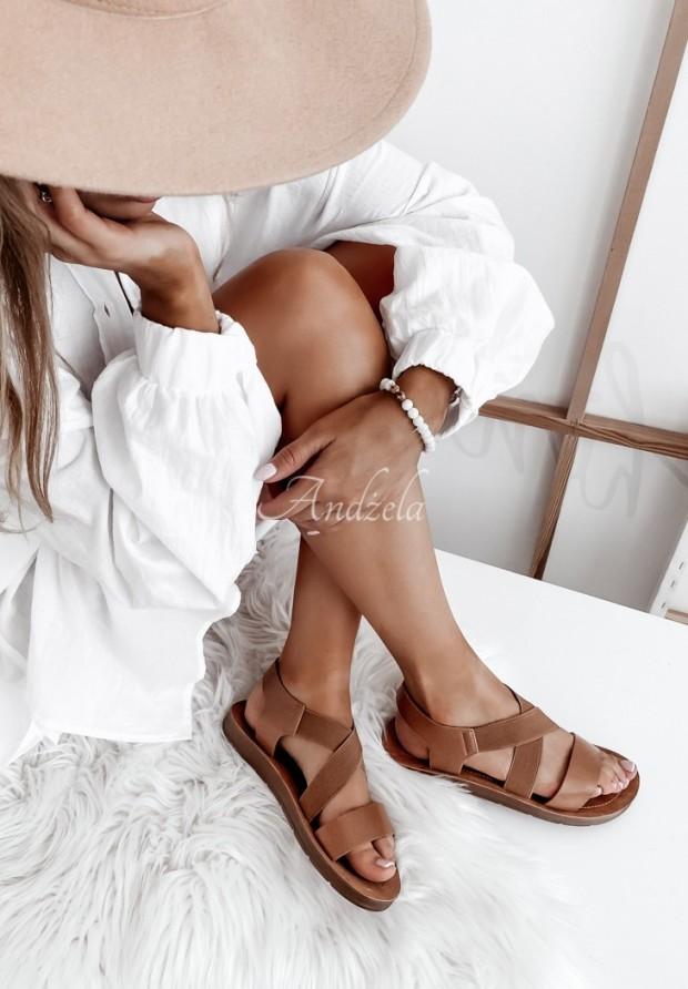 Sandále Maquette Camel