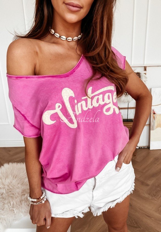 Tričko Vintage Pink
