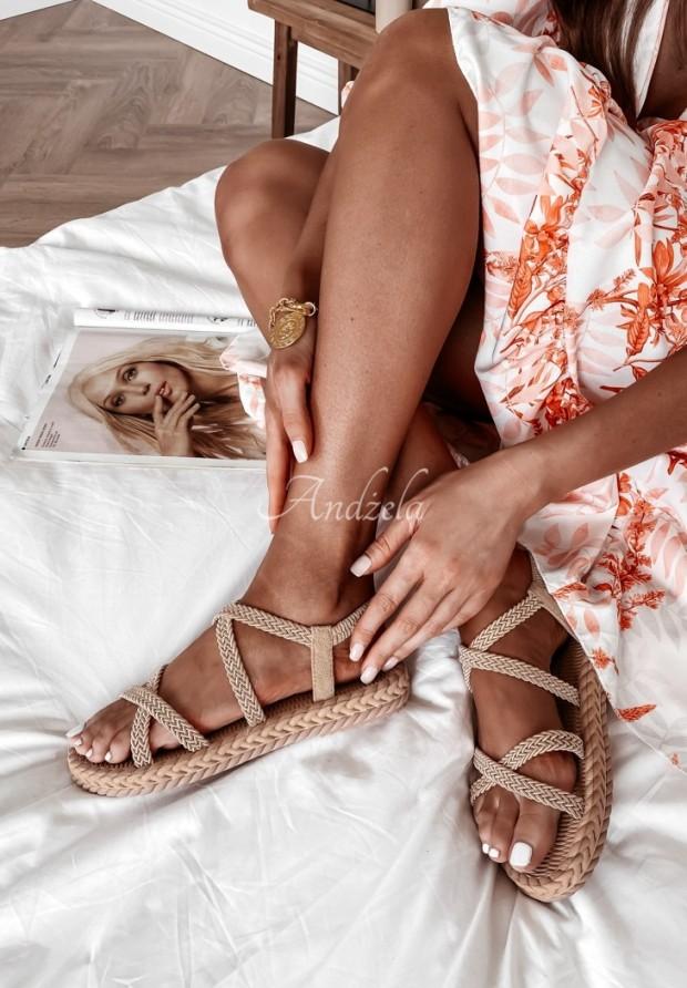 Sandále Morisa Natural