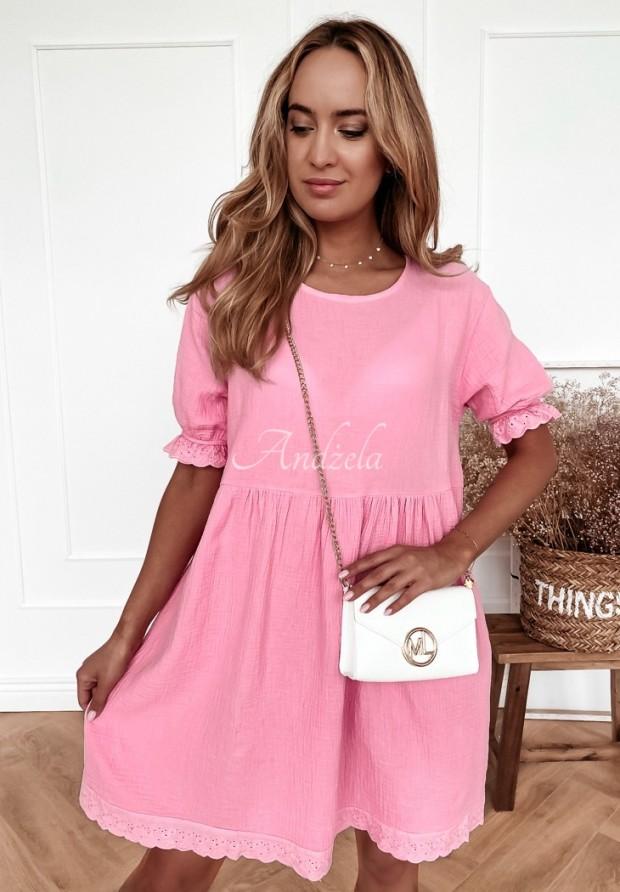Šaty Boho Avery Pink