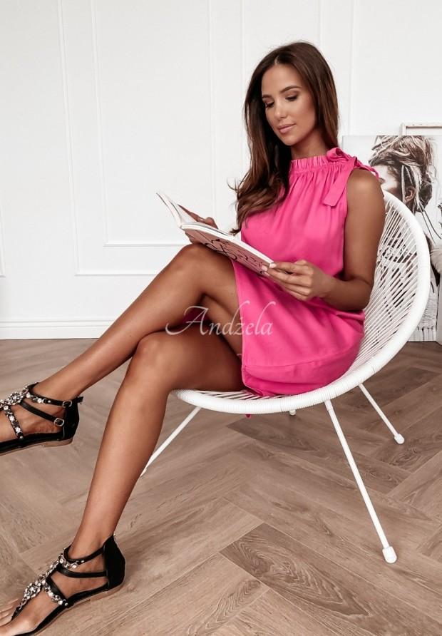 Šaty La Roca Pink