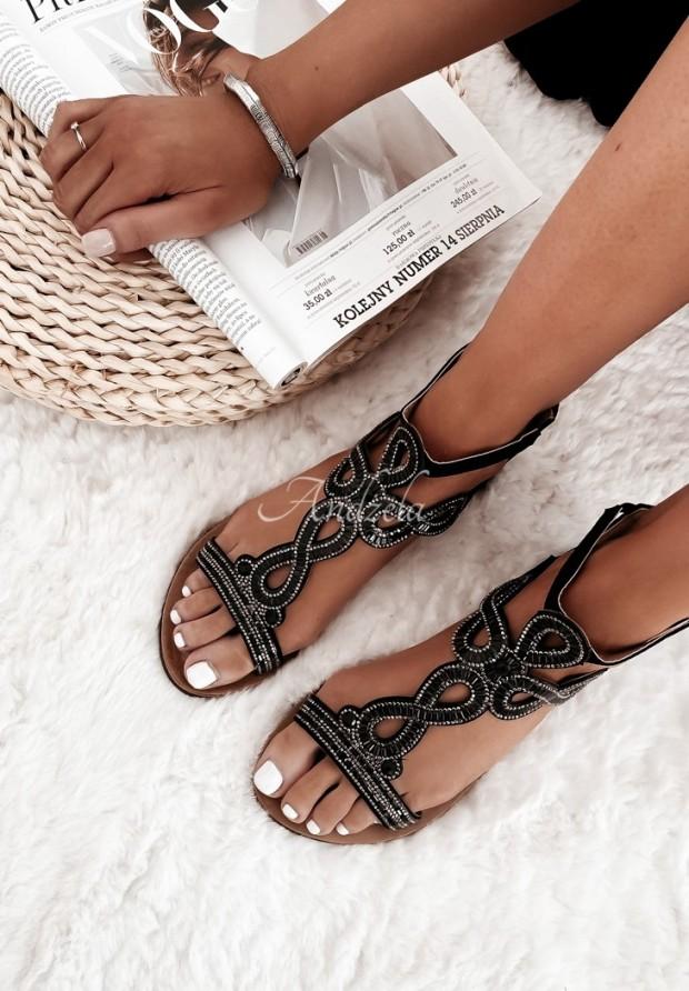 Sandále Tessa Black