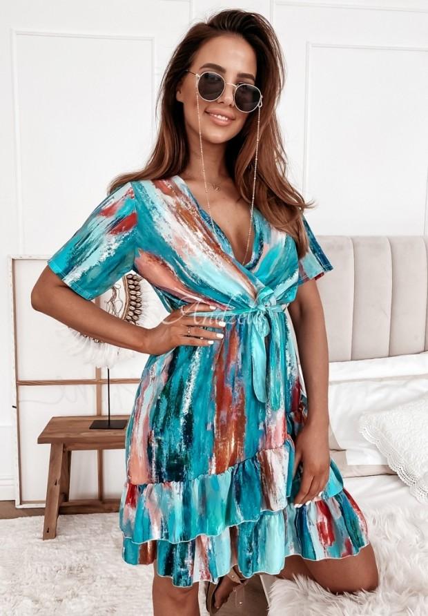 Šaty Malvia Blue