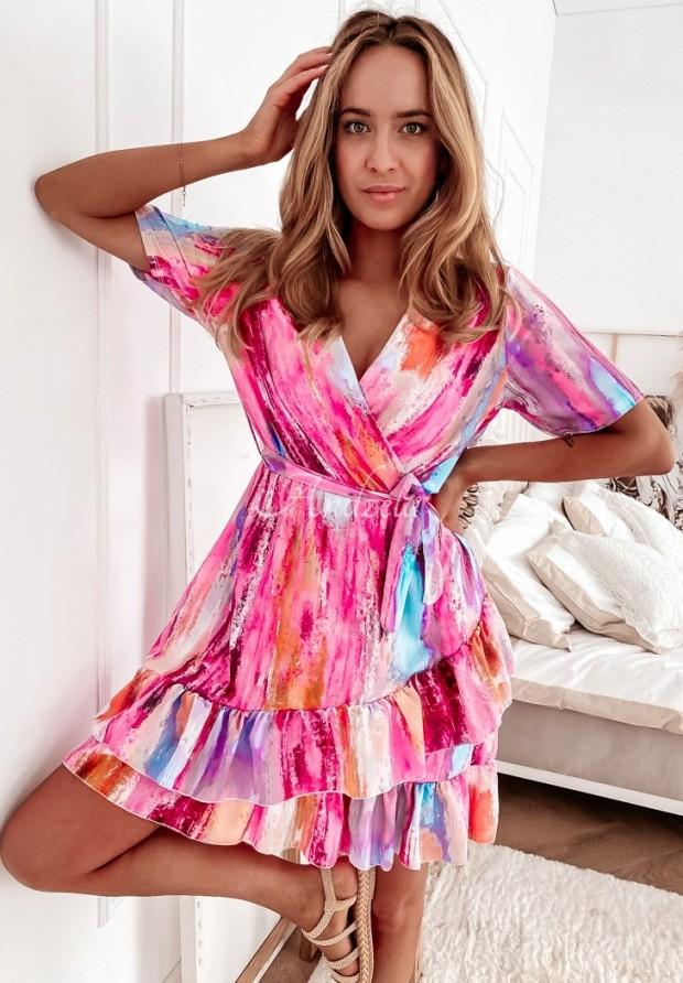 Šaty Malvia Pink