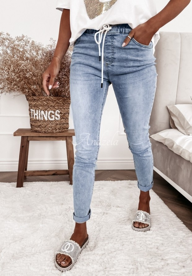 Nohavice Jeans Ficelle