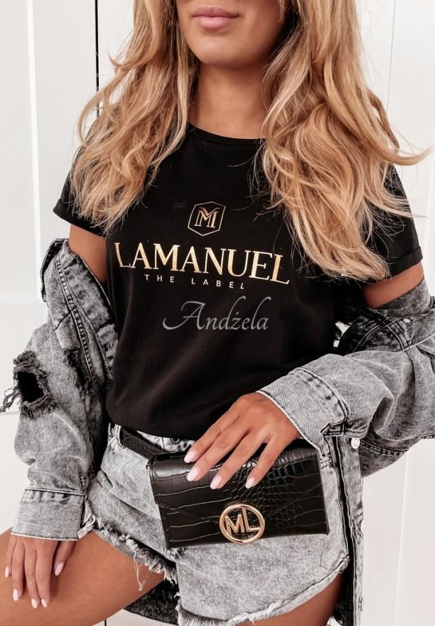 Tričko La Manuel Gold&Black