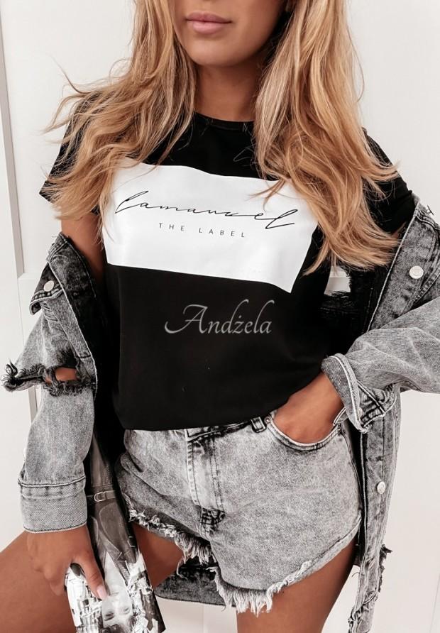 Tričko Label Black
