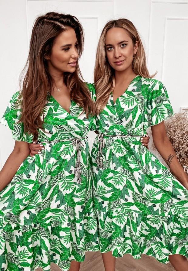 Šaty Jungle Ecru