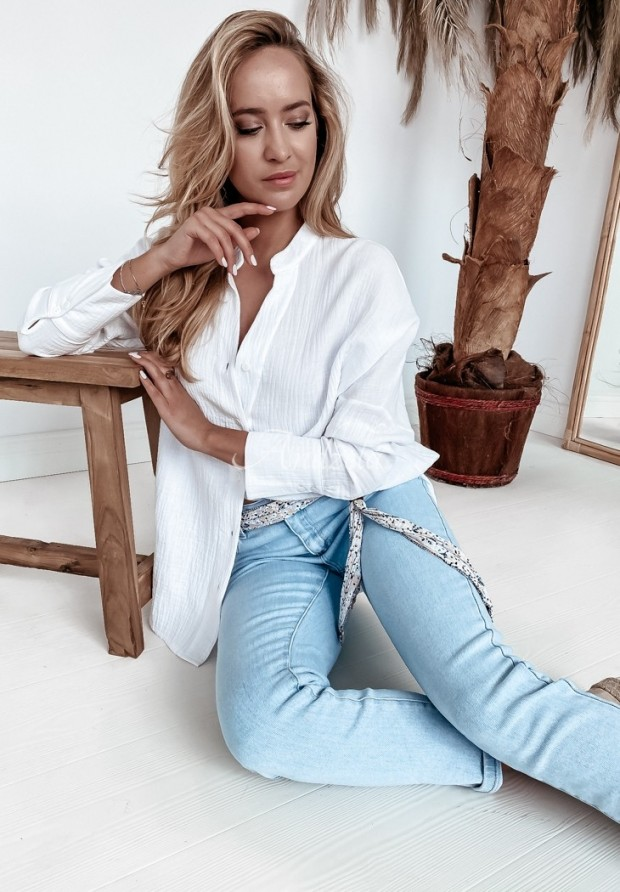 Nohavice Jeans Blomme