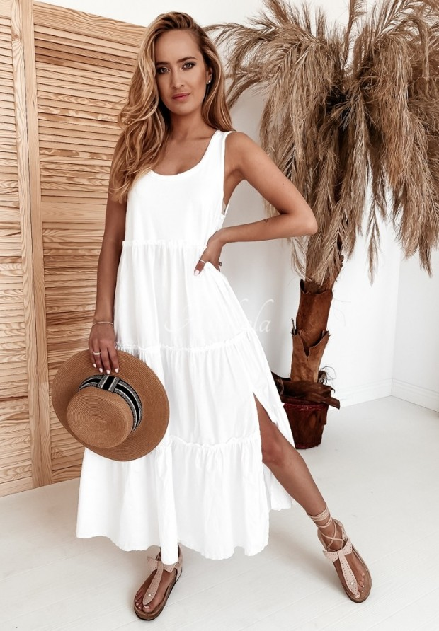 Šaty Versit White