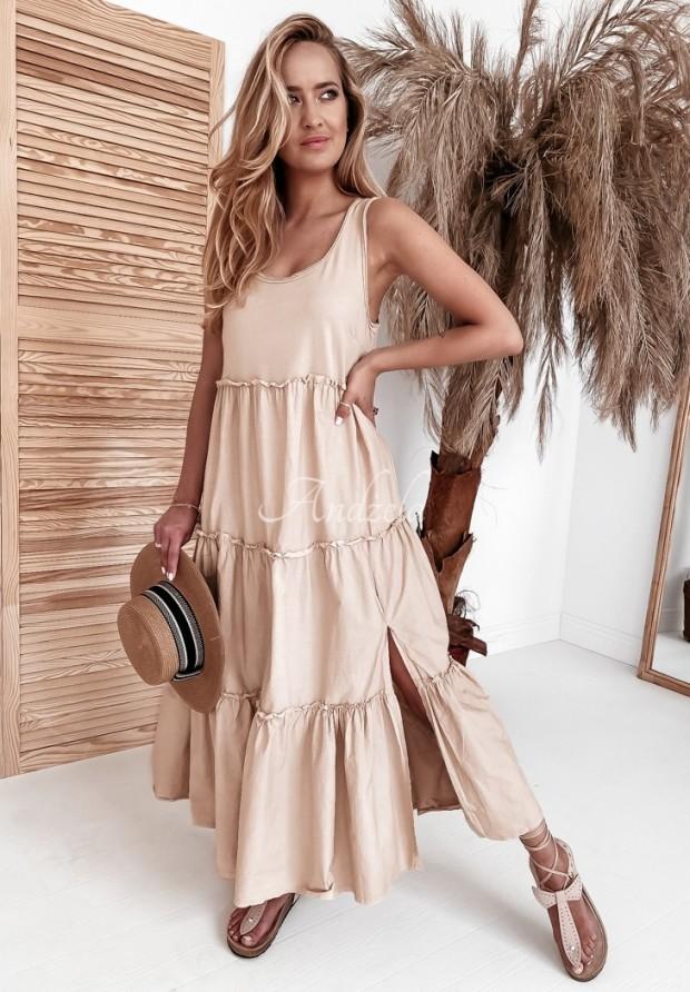 Šaty Versit Beige