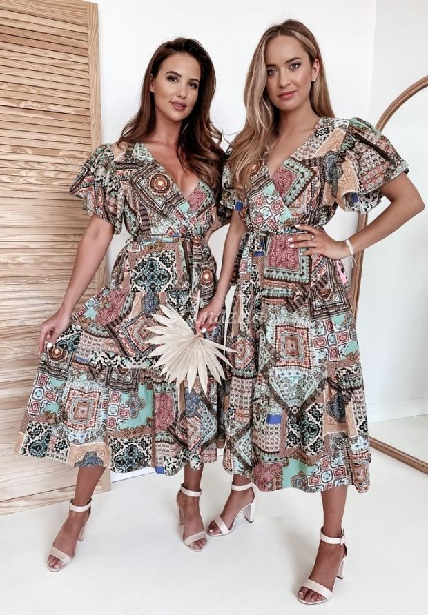 Šaty Jennifer Brown&Turquoise