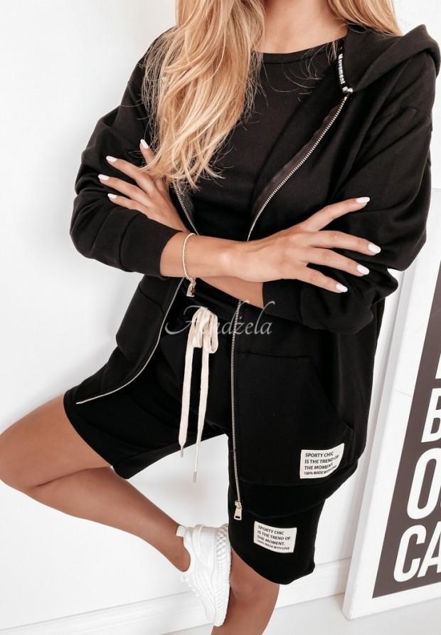 Mikina Sporty Chic Black
