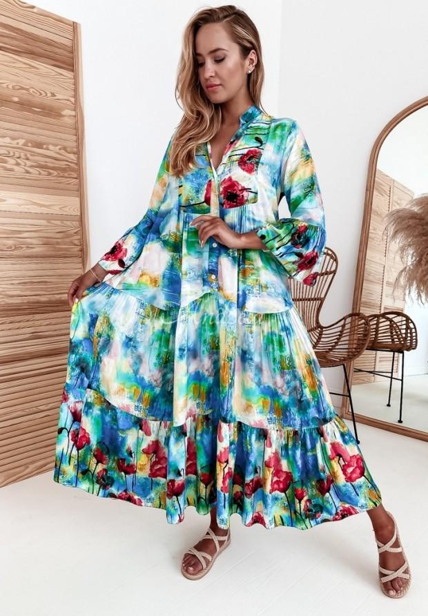 Šaty Amapolly Blue