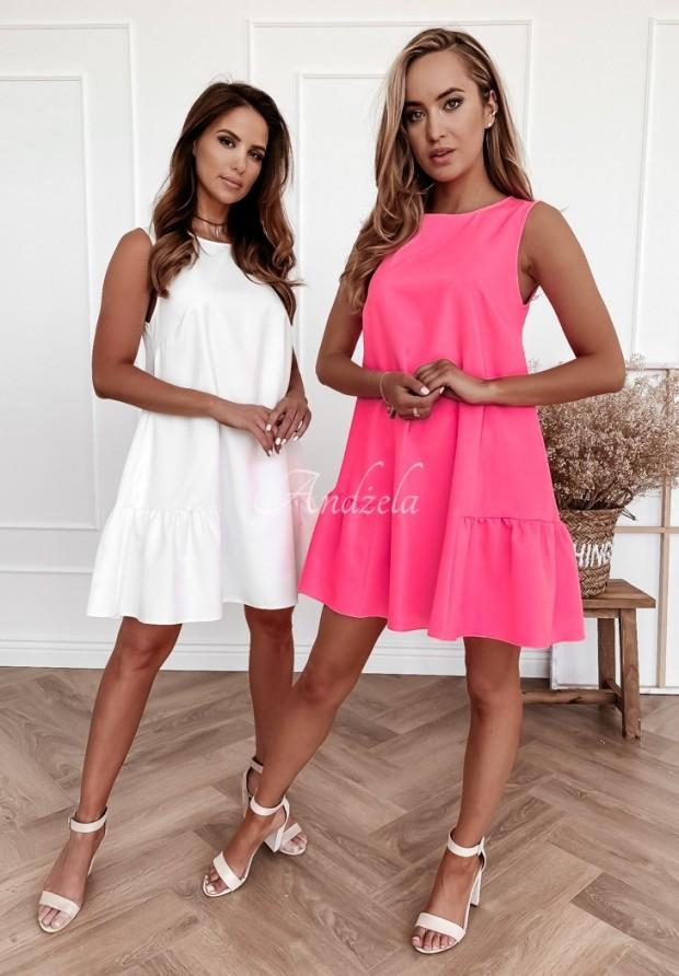 Šaty Vicky Neon Pink