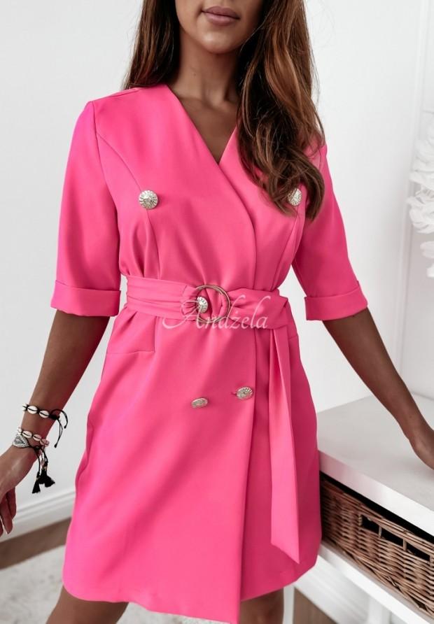 Šaty Sako Estelle Neon Pink