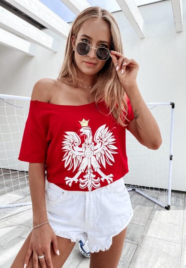 Tričko Eagle Red