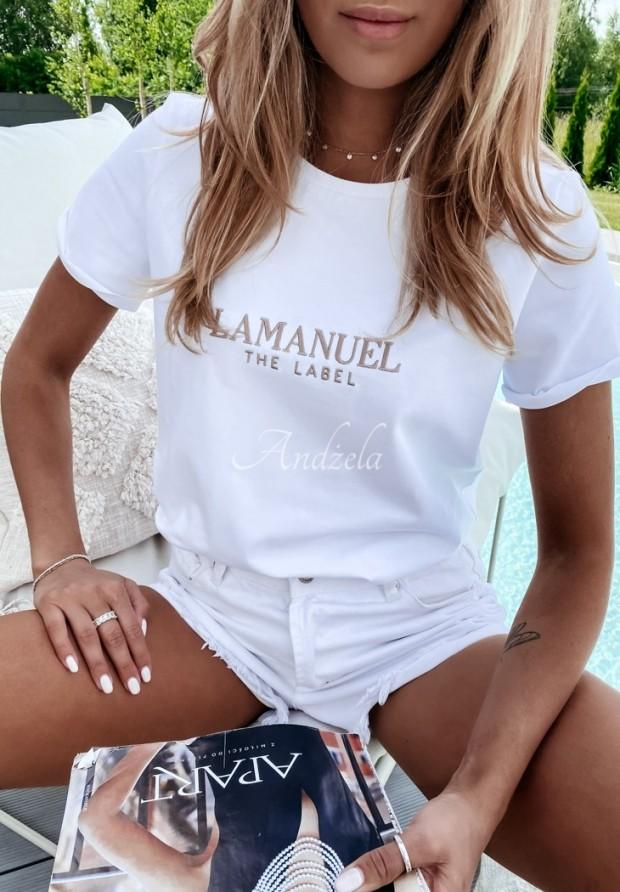 Tričko La Manuel Bacardi White