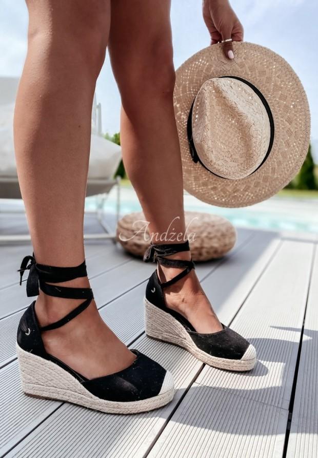Sandále Ruban Black