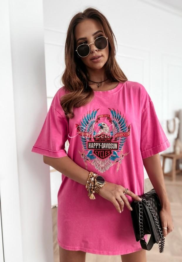 Tričko Davidson Pink