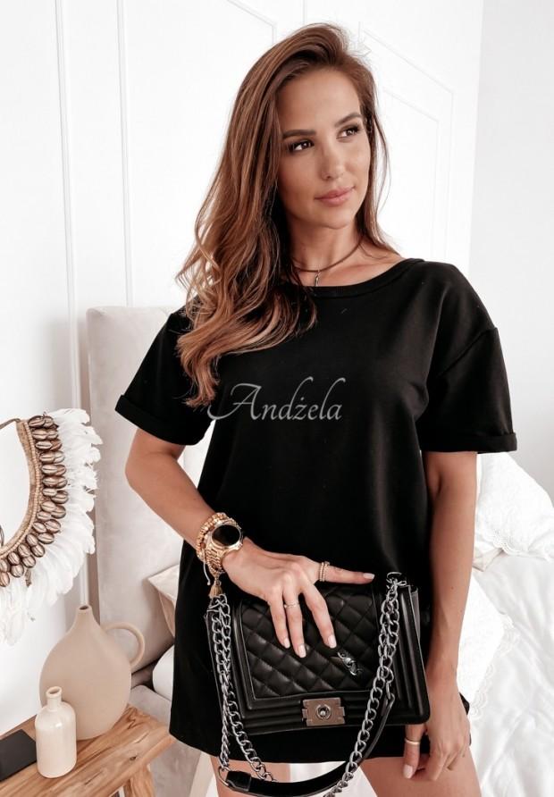 Šaty Tunika Chain Black