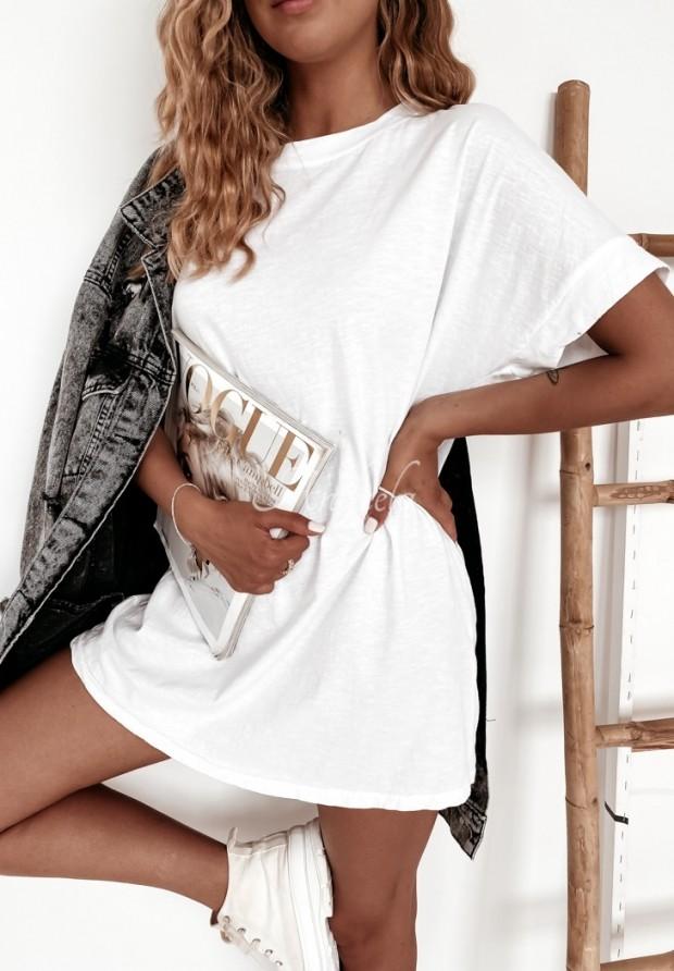 Tričko Oversize Simple White