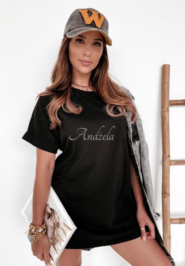Tričko Oversize Simple Black