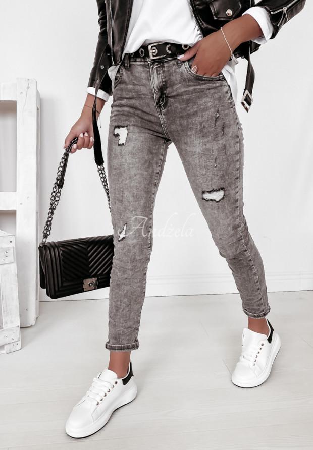 Nohavice Jeans Larena Grey