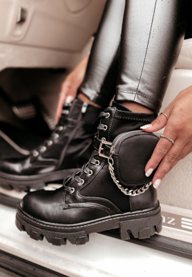 Členkové Topánky Tender Black