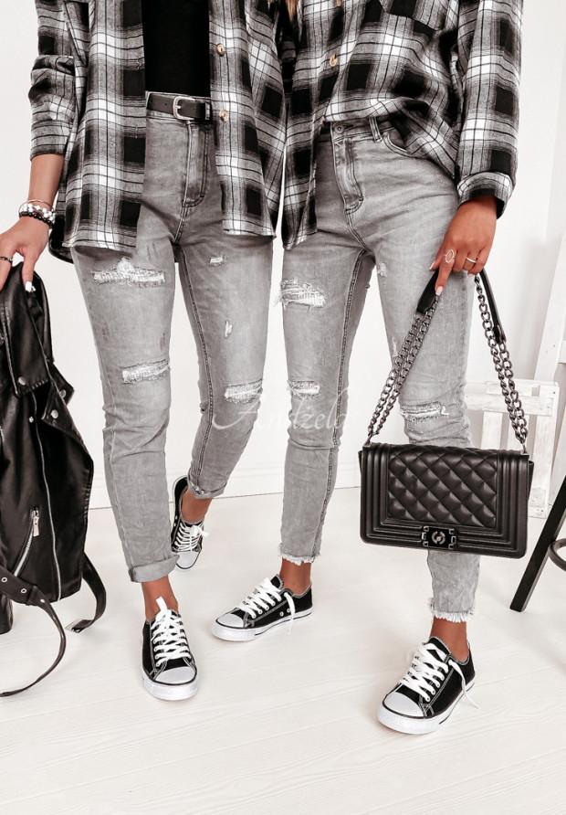 Nohavice Jeans Loreno Grey