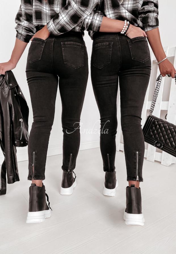 Nohavice Jeans Vipel Black