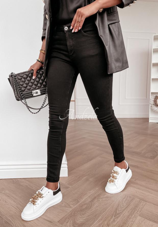 Nohavice Jeans Toronto Black