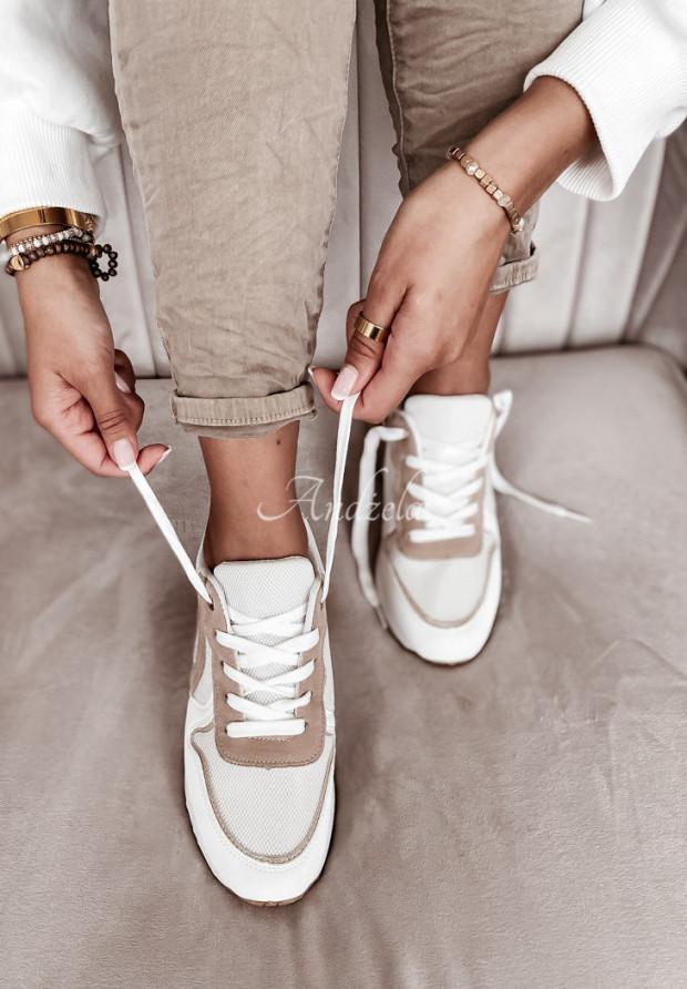 Tenisky Comfy White&Beige
